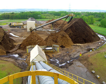 raw material: biomass storage